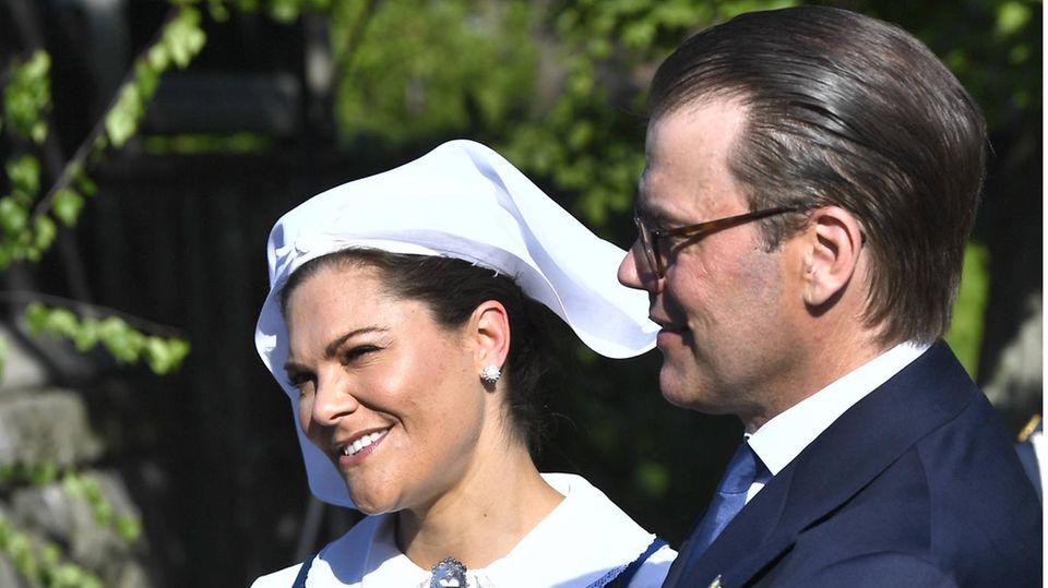 Prinzessin Victoria und Prinz Daniel