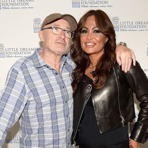 Phil Collins und Orianne bei einem Charity-Event im Jahr 2016