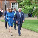 10. Juni 2021  Prinz Charles trifft sich am Vorabend des G7-Gipfels in Cornwell mit Wirtschaftsbossen und auch Modedesignerin Stella McCartney, um über die Zukunft zu sprechen. Im Kampf gegen den Klimawandel legt Charles große Hoffnungen in die morgige Veranstaltung.