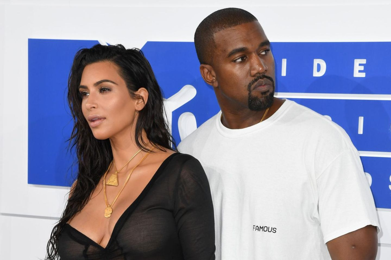 Kim Kardashian and Kanye West divorce.