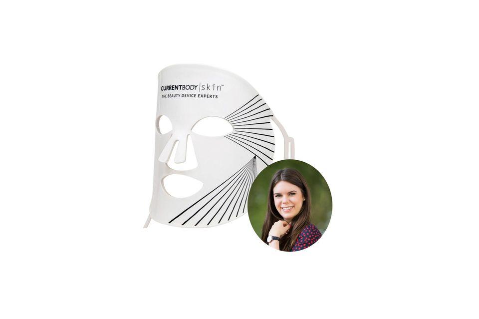 Beauty-Redakteurin Jessica hat die LED-Maske von CurrentBody getestet.