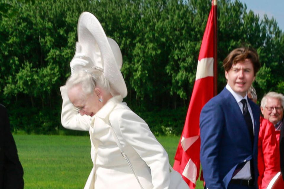 Königin Margrethe, Prinz Christian undPrinz Frederik