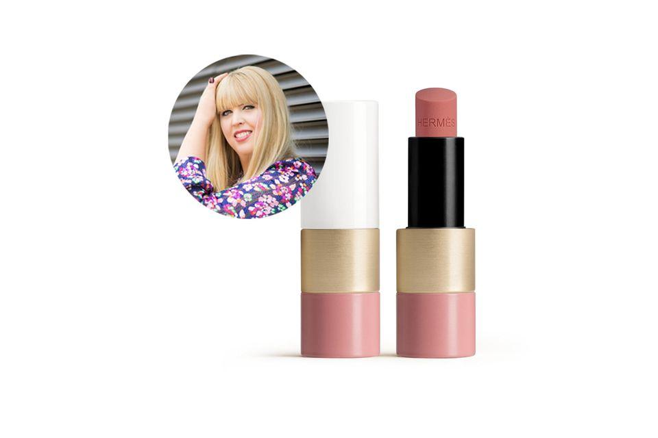 Überzeugt nicht nur mit einem wahnsinnig schönen Packaging: Der Rosy Lip Perfector von Hermès.