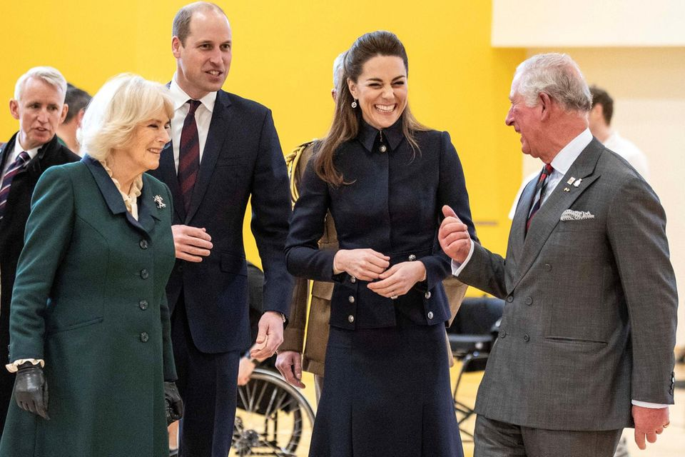 Herzogin Catherine und Prinz Charles haben ein besonderes Verhältnis