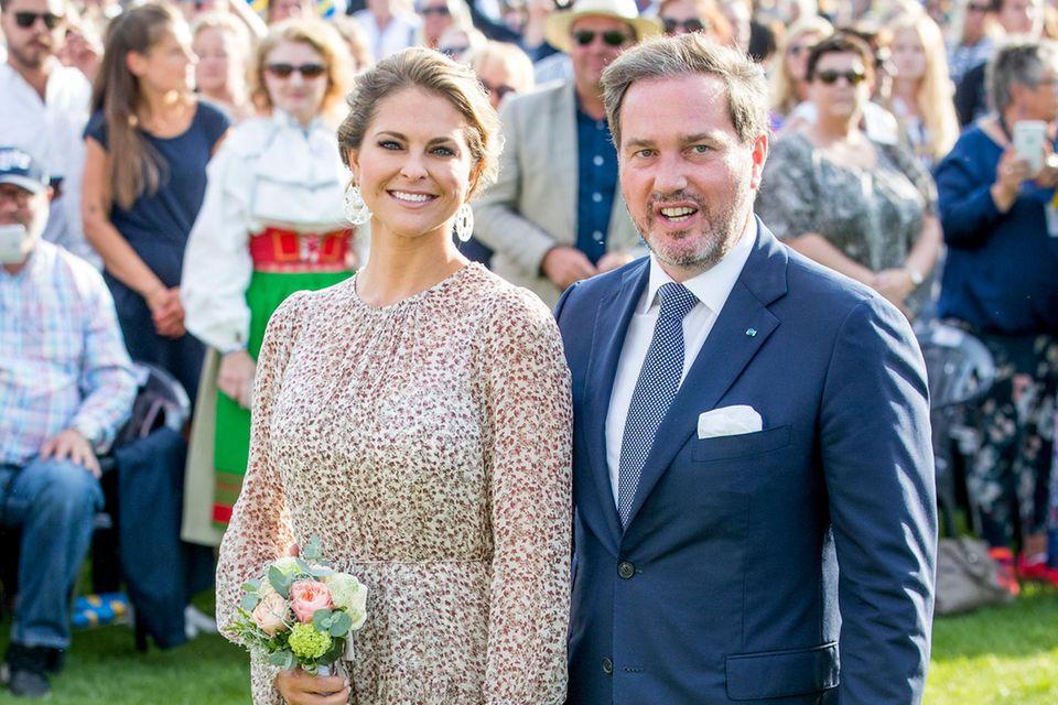 Prinzessin Madeleine und Chris O'Neill