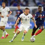 Trotz hartumkämpftem Ballbesitzsteht nach Abpfiff fest: Die deutsche Nationalelf verliert die Partie gegen Frankreich mit 1:0.