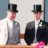 Das legendäre Rennen mutet beinah einem Familientreffen der britischen Königsfamilie an. Auch Queen Elzabeths jüngster Sohn, Prinz Edward, ist heute mit Ehefrau Sophie mit von der Partie.