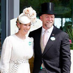 Zara und Mike Tindall genießen nach der Geburt ihres dritten Kindes den freien Nachmittag und zeigen sich ausgelassen beim Pferdesport-Event des Jahres.