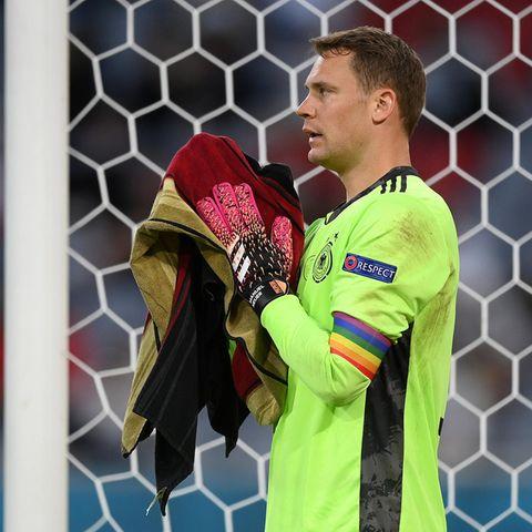 Manuel Neuer beim EM-Spiel gegen Frankreich am 15. Juni 2021 in München.