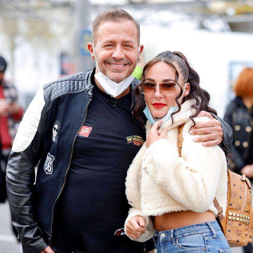 Willi Herren (†) mit seiner Tochter Alessia.