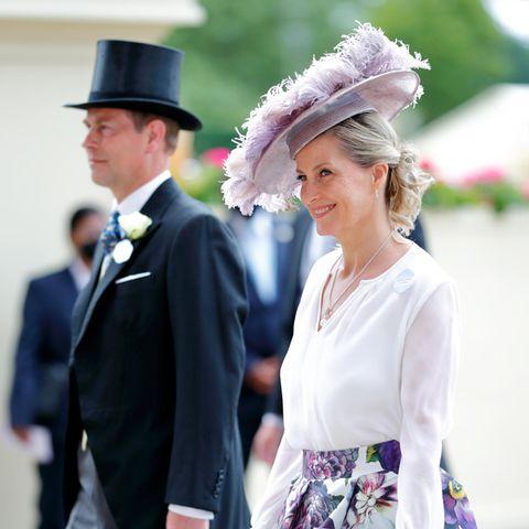 """Royal Ascot 2021: Die britische Königsfamilie """"auf der Hut"""""""