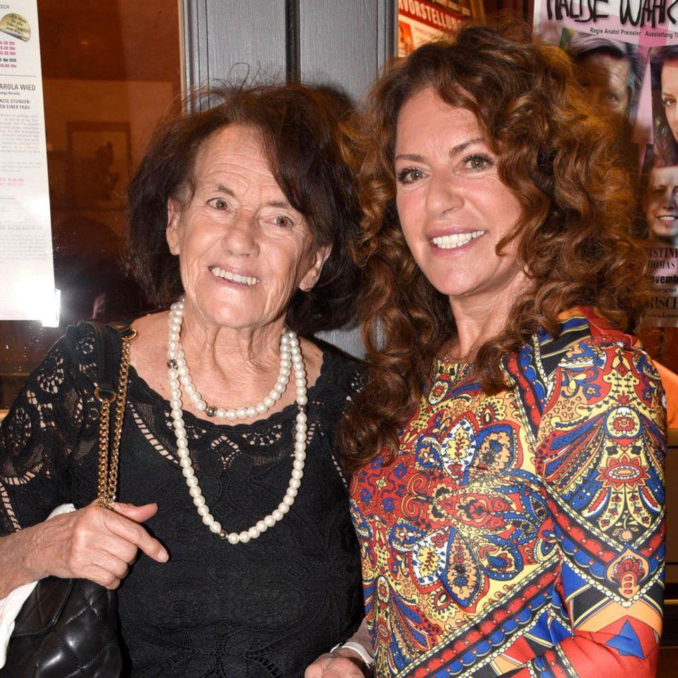 Christine Neubauer und ihre Mutter Lydia Neubauer