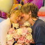 """20. Juni 2021  Seinem """"Babygirl"""" gratuliert Keith Urban mit einem Riesenstrauß Rosen, Luftballons und ganz viel Liebe zum Geburtstag. Nicole Kidman feiert heute ihren 54. Geburtstag. Happy Birthday!"""