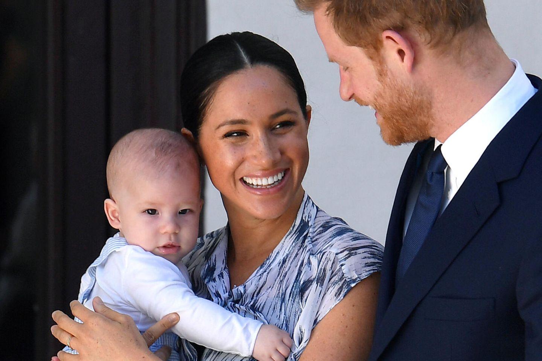 Herzogin Meghan, Prinz Harry und ihr Sohn Archie