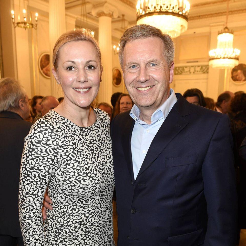 Bettina Wulff und Ehemann Christian Wulff