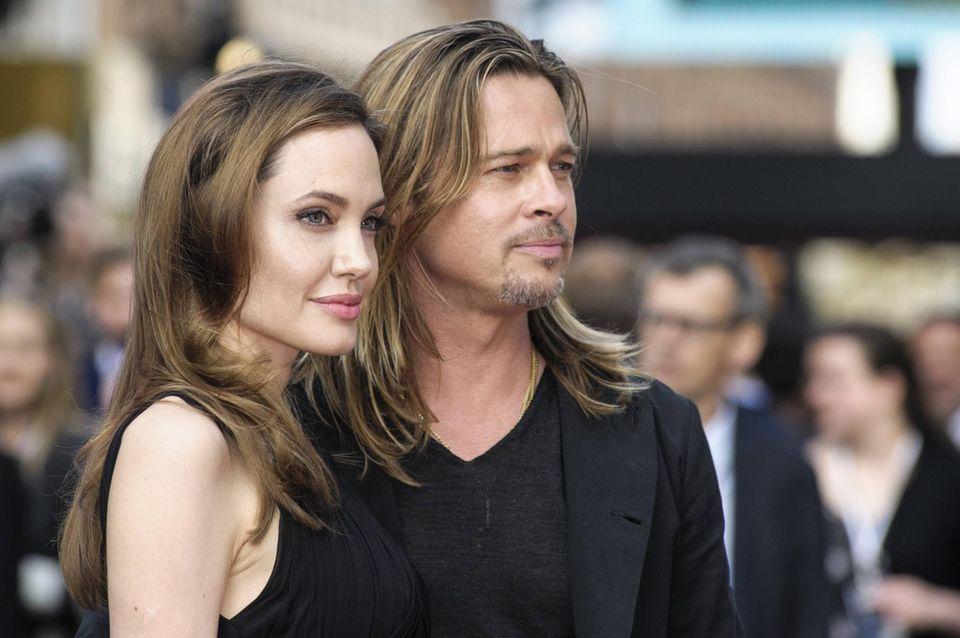 Angelina Jolie und Brad Pitt waren 12 Jahre lang ein Paar und von 2014 bis 2016 miteinander verheiratet.