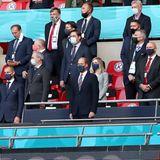 22. Juni 2021  Heute mischt sich ein royaler Ehrengast unter die Zuschauer auf den hohen Rängen: Beim Spiel England gegen Tschechien unterstütztPrinz William seine Mannschaft bei der Fußball-Europameisterschaftim Londoner Wembley Stadion.