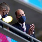 Prinz Williams und die englischenFans können zufrieden sein. Mit dem 1:0-Sieg im Londoner Heimstadion kann sich die Nationalelfden Einzug ins EM-Achtelfinale sichern.