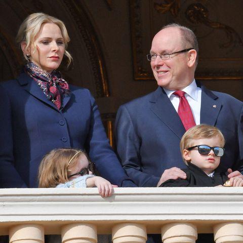 Fürstin Charlène,Fürst Albert,Gabriella und Jacques