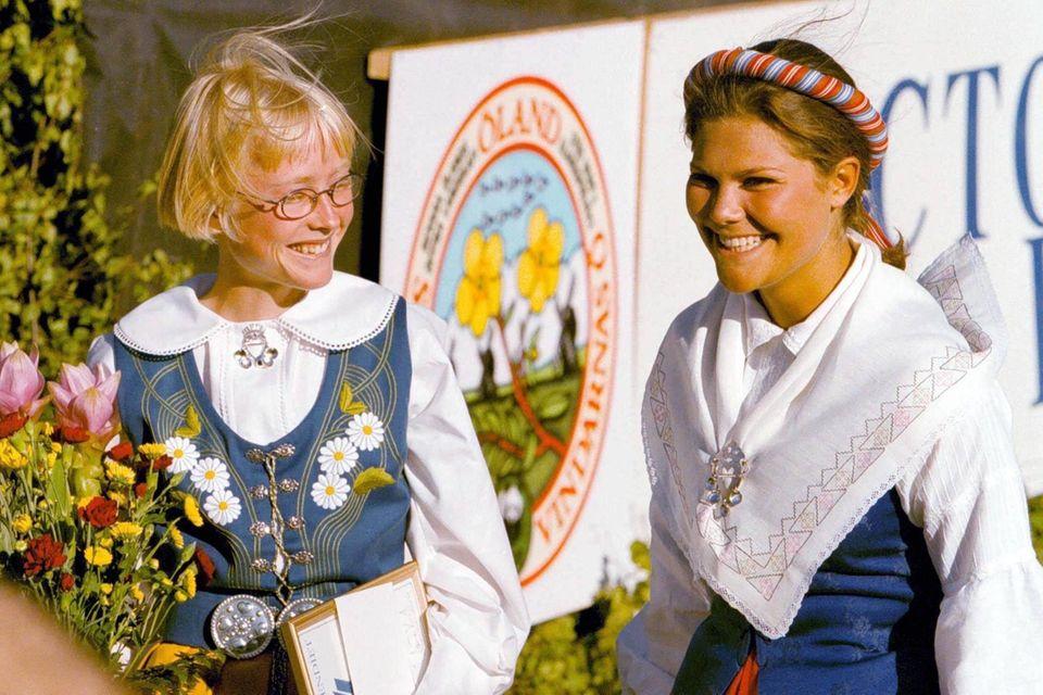 Sara Wedlund und Prinzessin Victoria