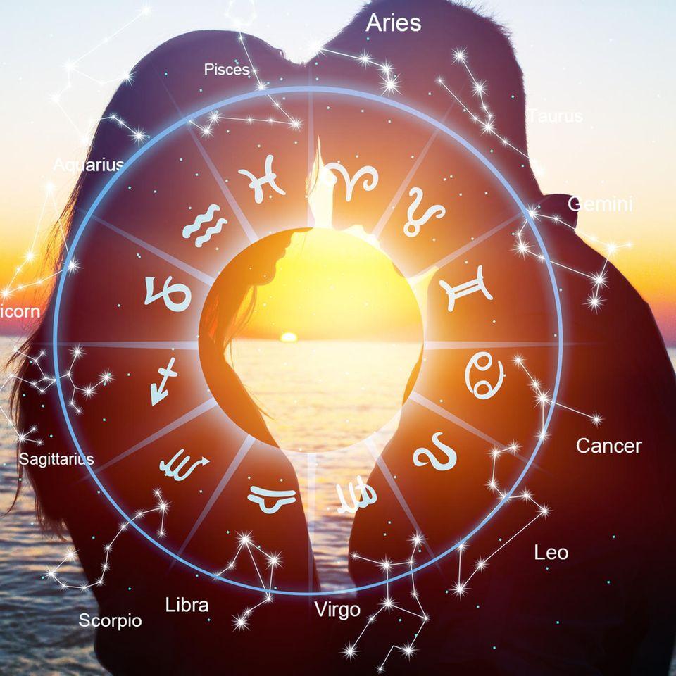 Horoskop-Grafik