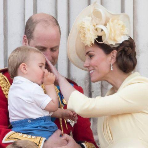 """Trooping the Colour"" mit Prinz Louis, Prinz George und Prinzessin Charlotte"