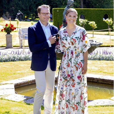 Prinz Daniel undPrinzessin Victoria