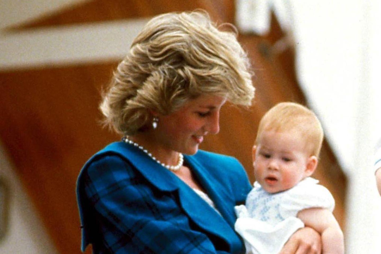 Prinzessin Diana und Prinz Harry, 1992
