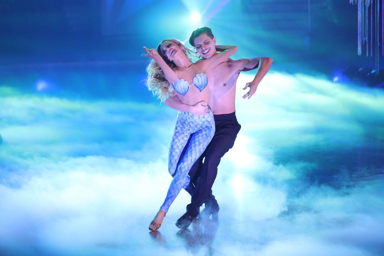 "Patricija Belousova und Alexandru Ionel bei ""Let's Dance""."
