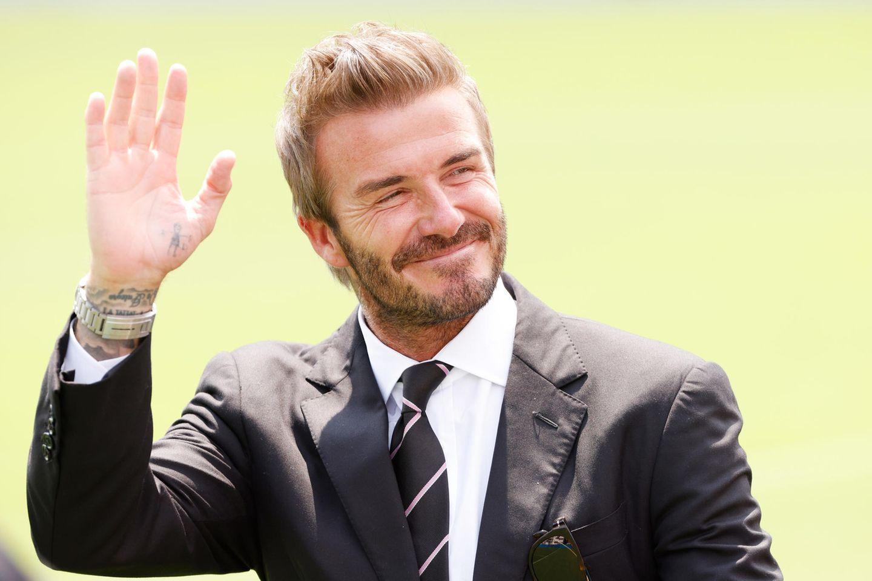 Jugendfotos der Stars: David Beckham