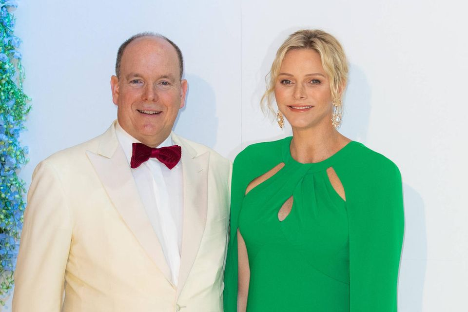 Fürst Albert und Fürstin Charlène von Monaco