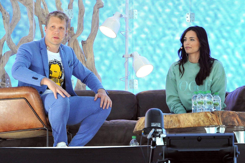 Oliver Pocher und Amira Pocher