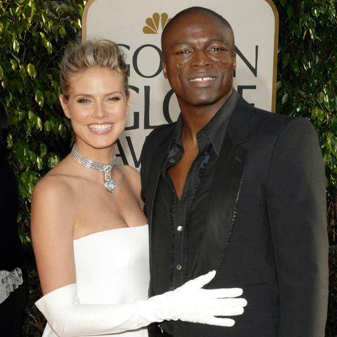 Heidi Klum und Seal waren sieben Jahreverheiratet.