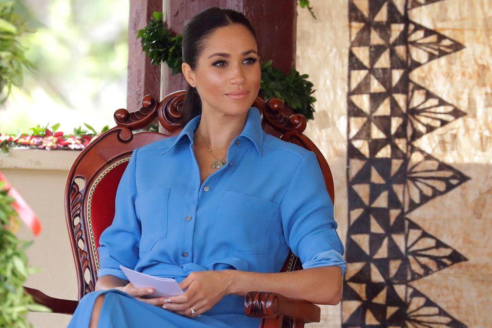 Herzogin Meghan: Sie verärgerte den Palast schon in den ersten Tagen