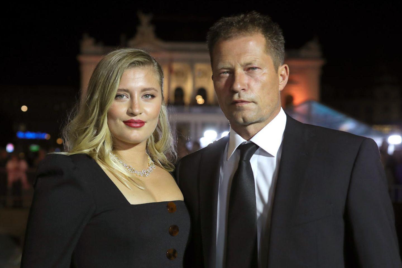 Luna Schweiger und Til Schweiger