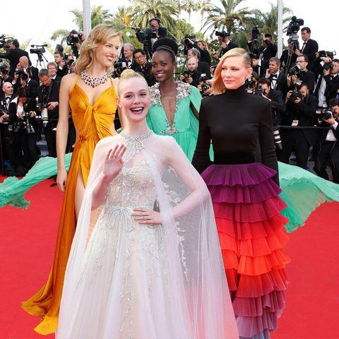 Die schönsten Cannes-Looks aller Zeiten mit ElleFanning, Lupita Nyong'o, Cate Blanchett + Co.