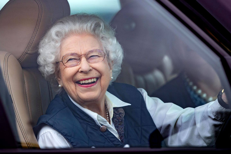 Queen Elizabethbei derRoyal Windsor Horse Show am 2. Juli 2021.