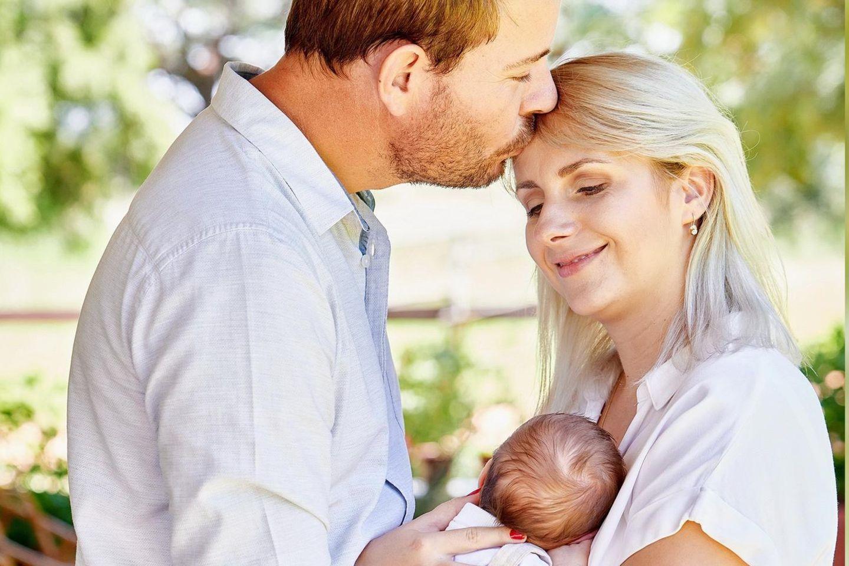 Gerald und Anna Heiser sind im Januar 2021 Eltern geworden.