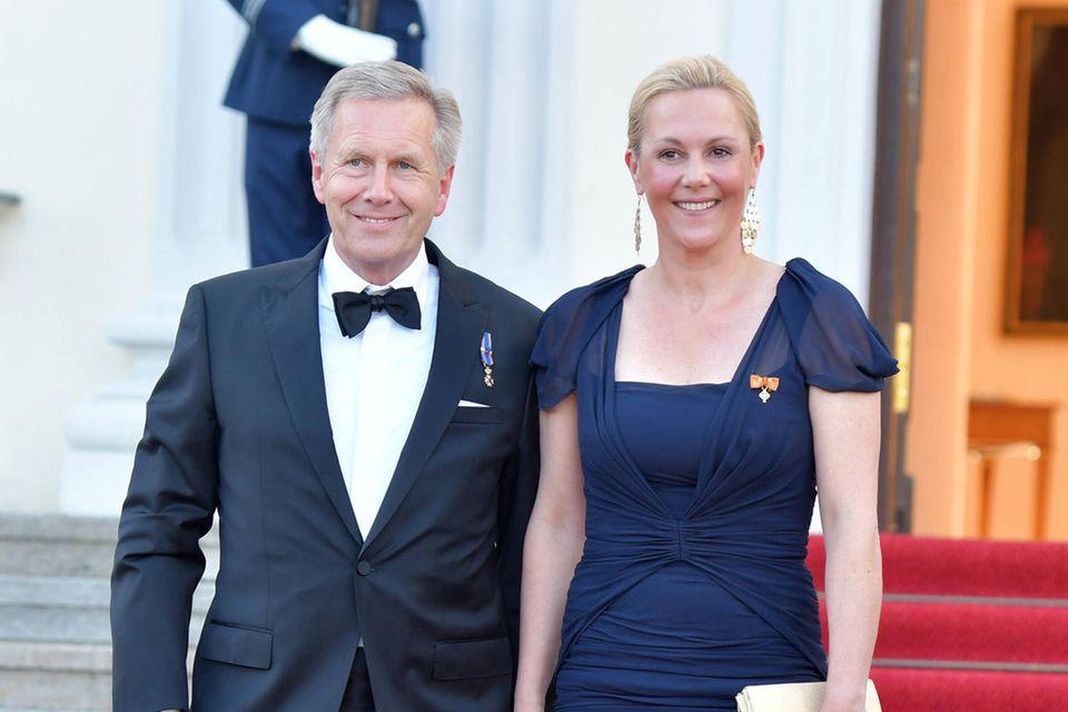 Christian Wulff und Ehefrau Bettina Wulff