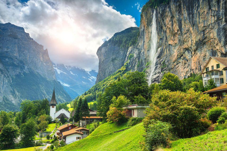 Unbekannte Reiseziele: Lauterbrunnen