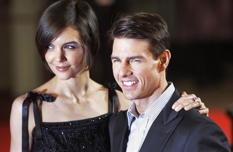 Katie Holmes und Tom Cruise waren von 2006 bis 2012 verheiratet.