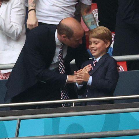 Prinz William undPrinz George