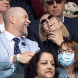 7. Juli 2021  In Wimbledon gibt es heute ebenfalls royale Gäste. Mike und Zara Tindall schauen sich am neunten Spieltag das Tennisturnier der Champions an und scheinen auch schon vor dem Match eine Menge Spaß zu haben.