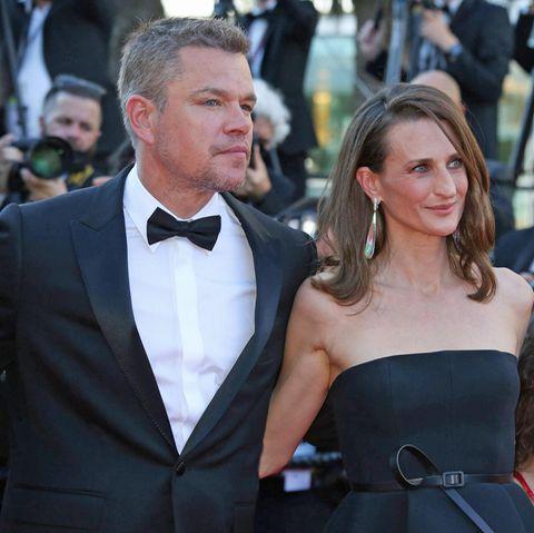 Matt Damon und Camille Cottin