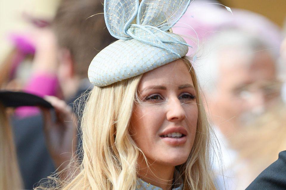 Ellie Goulding auf der Hochzeit von Prinzessin Eugenie