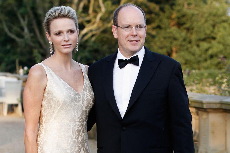Fürstin Charlène undFürst Albert