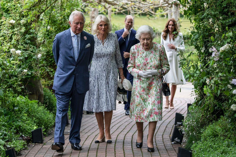 Die Royals beim G7-Summit