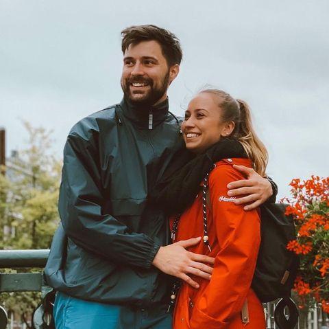 """Steve und Svenja lernten sich in der RTL-Dating-Show """"Take Me Out"""" kennen und lieben."""