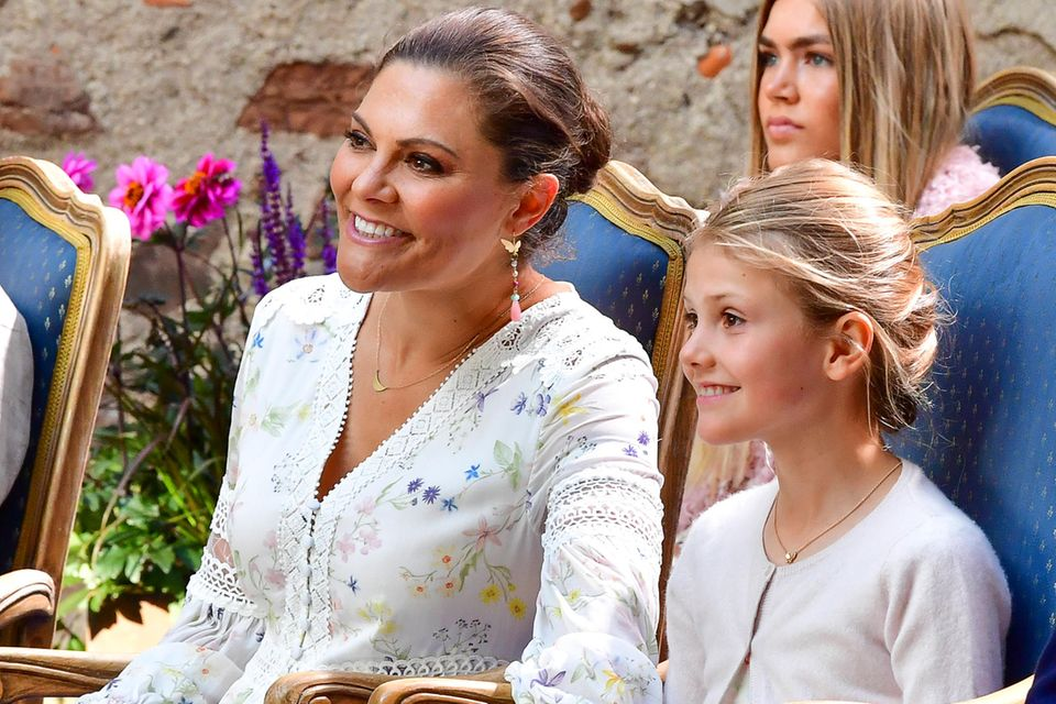 Kronprinzessin Victoria und Prinzessin Estelle