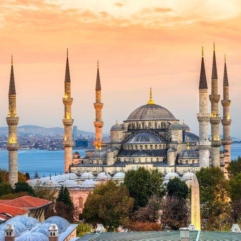 Istanbul mit der legendären Hagia Sophia